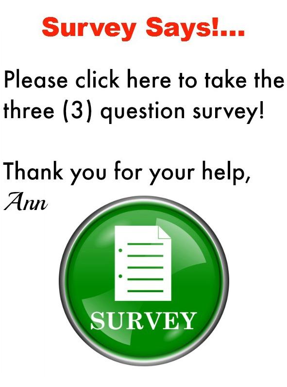 Survey Says! ...
