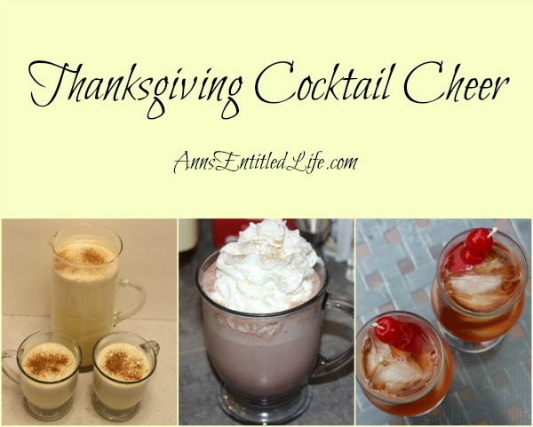 Thanksgiving Cocktail Cheer