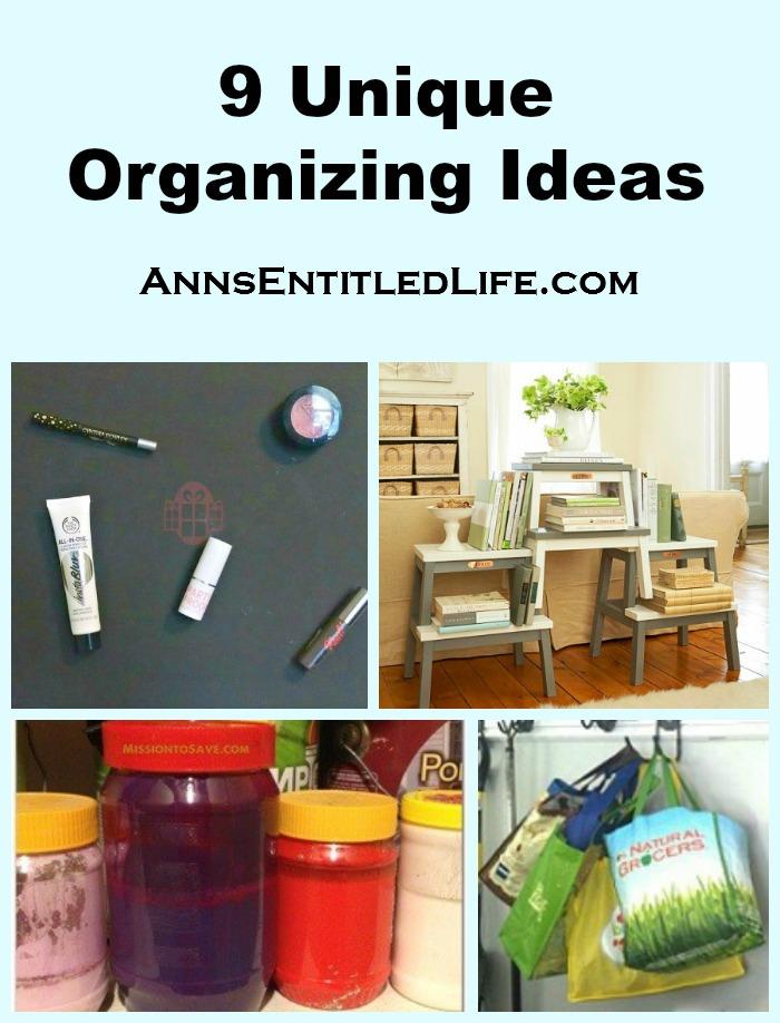 Unique Product Ideas Part - 19: 9 Unique Organizing Ideas