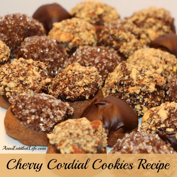 Cherry Cordial Cookies Recipe. A sinfully decadent chocolate cookie surrounds a cherry surprise in these easy to make, totally delicious, Cherry Cordial Cookies Recipe.