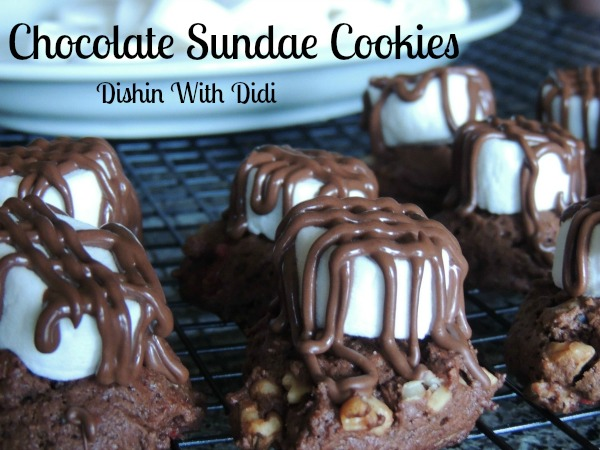 Chocolate Sundae Cookies Recipe