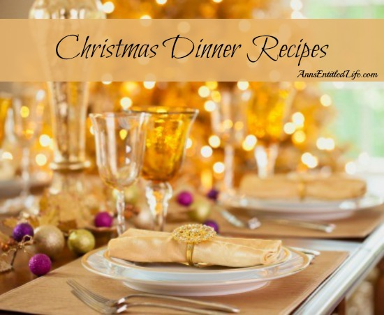 Christmas Dinner Recipes. Looking for Christmas or Christmas Eve dinner recipe ideas? Here is a  long list of suggested Christmas Dinner Recipes for your holiday table. Enjoy!