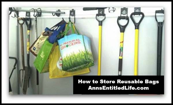 How to Store Reusable Bagss