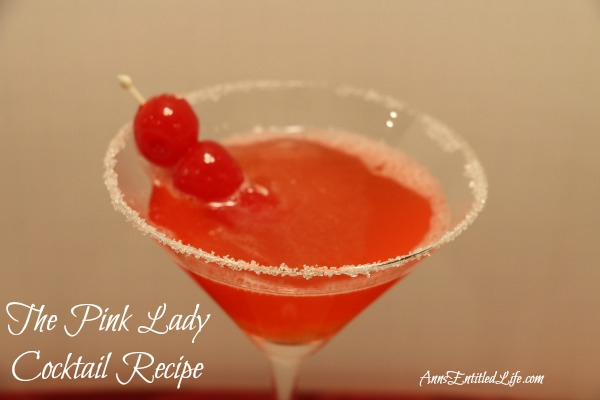 The Pink Lady Cocktail Recipe