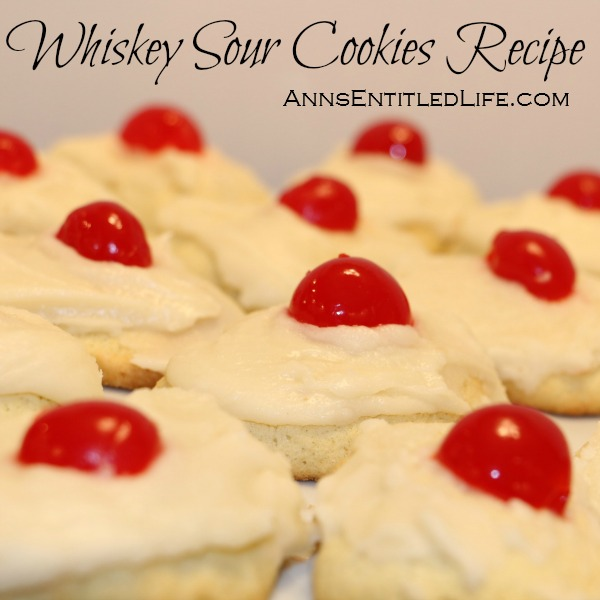 Whiskey Sour Cookies Recipe