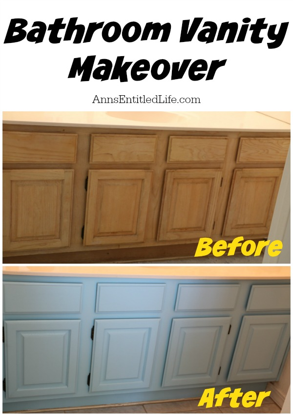 Vanity Light Makeover : Bathroom Vanity Makeover