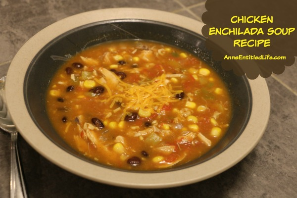 Chicken Enchilada Soup Recipe. The classic chicken enchilada recipe in a bowl. Capture all the flavors of an enchilada with this delicious chicken enchilada soup!