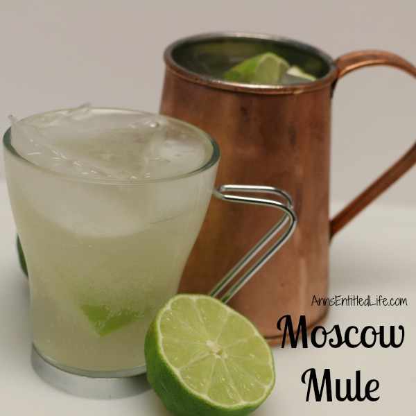 Moscow Mule Cocktail Recipe
