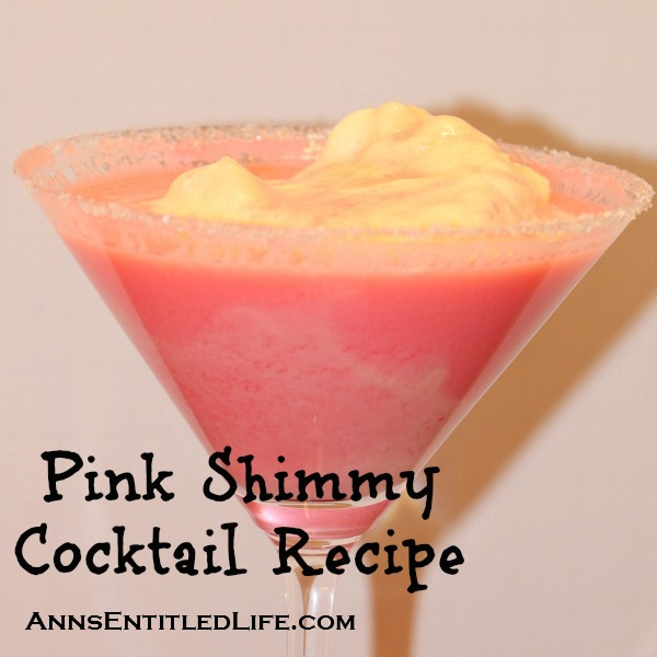 Pink Shimmy Cocktail Recipe