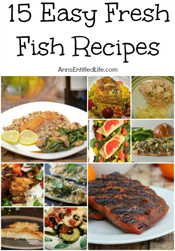 15 easy fresh fish recipes for Great fish recipes