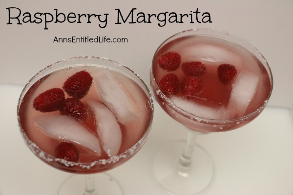 Raspberry Margarita Recipe. A fresh, raspberry twist to a traditional margarita cocktail, this Raspberry Margarita Recipe is a little sweet, a little tart, and totally delicious!