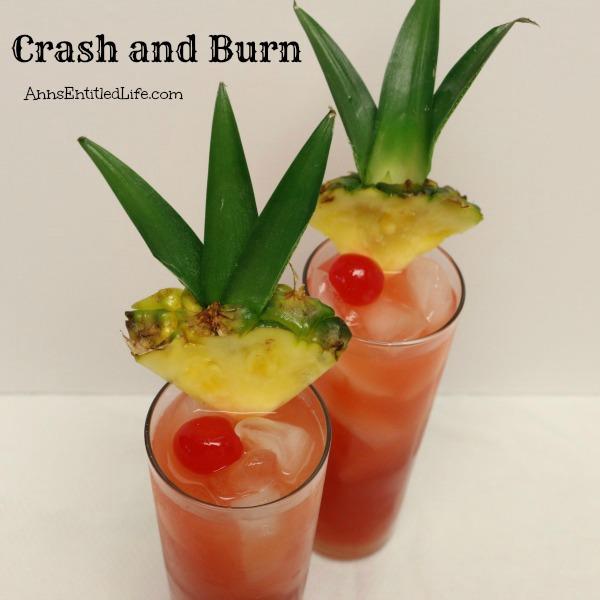 Crash and Burn Cocktail Recipe