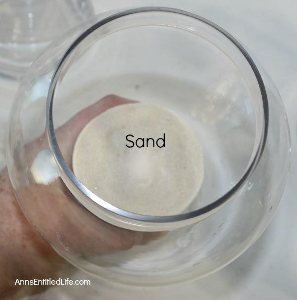 Apothecary Jars with Seashells
