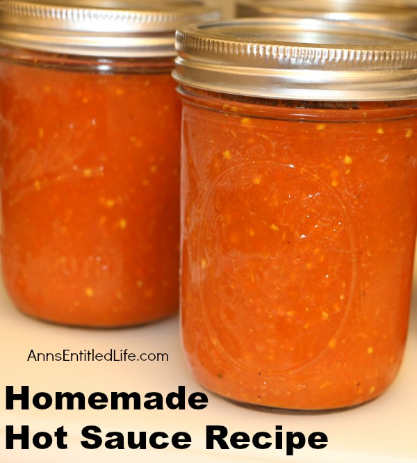 recipe Homemade hot sauce