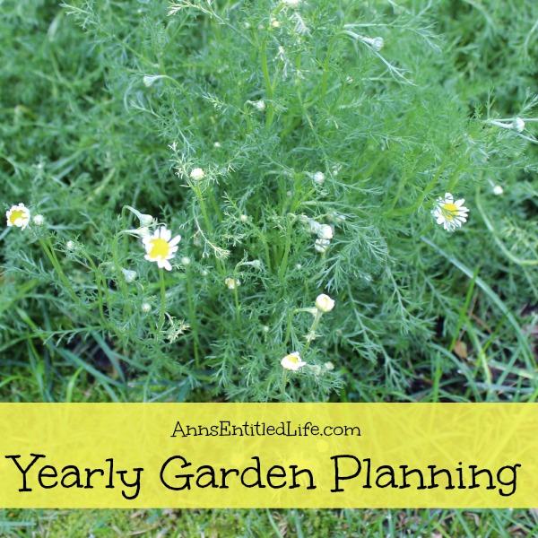 Yearly Garden Planning