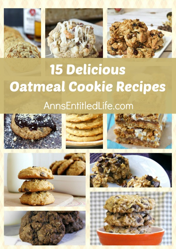 15 Delicious Oatmeal Cookie Recipes. Oatmeal cookies are a perennial favorite for kids and adults alike! Crunchy, soft, chewy, frosted and stuffed; try one of these 15 Delicious Oatmeal Cookie Recipes today!