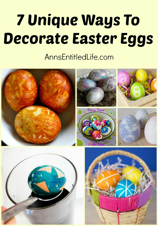 Unique Ways To Decorate Living Room: 7 Unique Ways To Decorate Easter Eggs