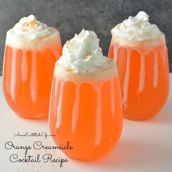 Orange creamsicle cocktail recipe for Cocktail orange