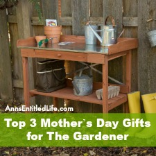 Top 3 Mother's Day Gifts for The Gardener