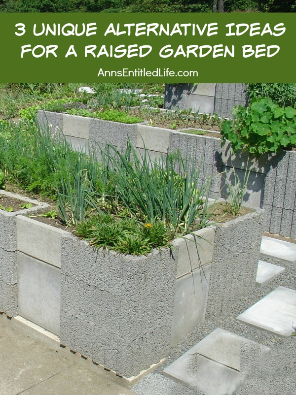 3 Unique Alternative Ideas for a Raised Garden Bed