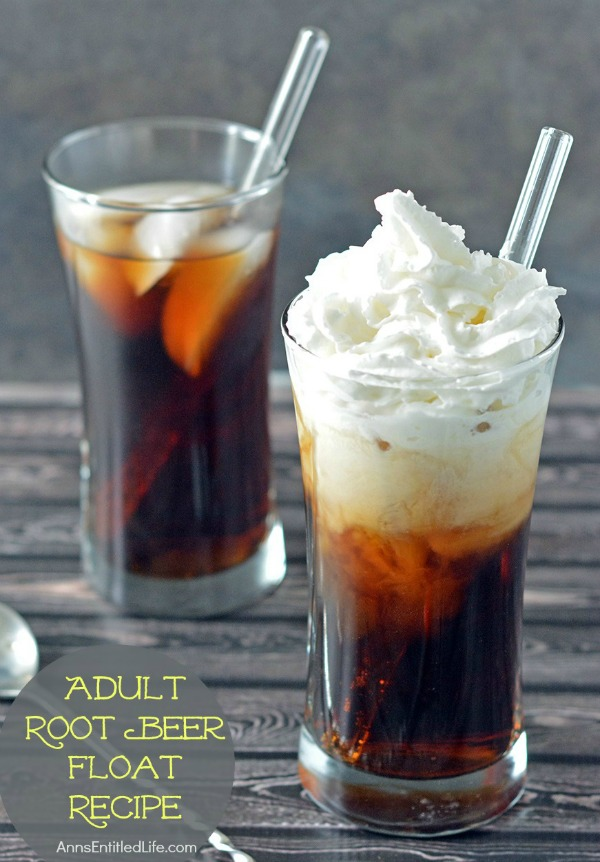 Adult Root Beer Float Recipe. Decadent, smooth and oh so delicious, this alcoholic root beer float if a fun adult treat on a warm day. If you liked root beer floats as a kid, you are going to love this adult root beer float!