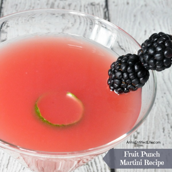Fruit Punch Martini Recipe