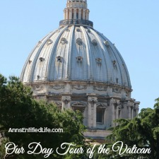 Our Day Tour of the Vatican