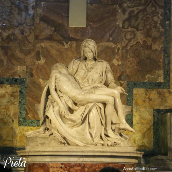 Michelangelo's The Pietà