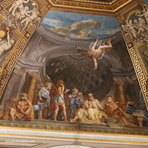 ceiling at the Vatican