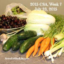 2015 CSA Share Week 7