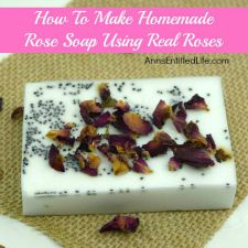 Rose Petal Soap Recipe