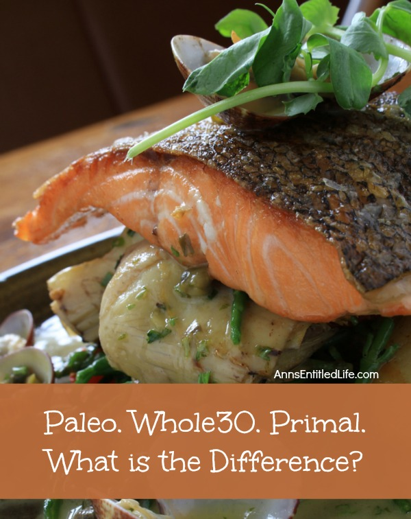 Paleo. Whole30. Primal. What is the Difference?