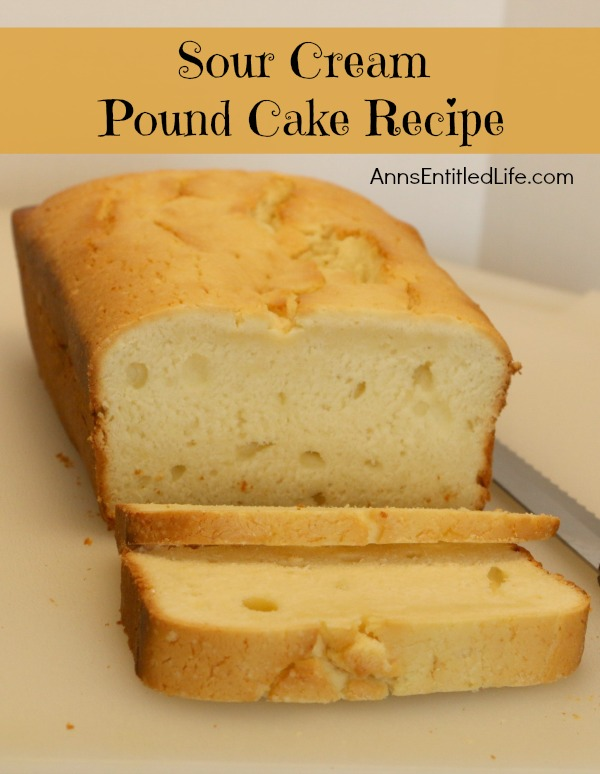 Making Vanilla Pound Cake