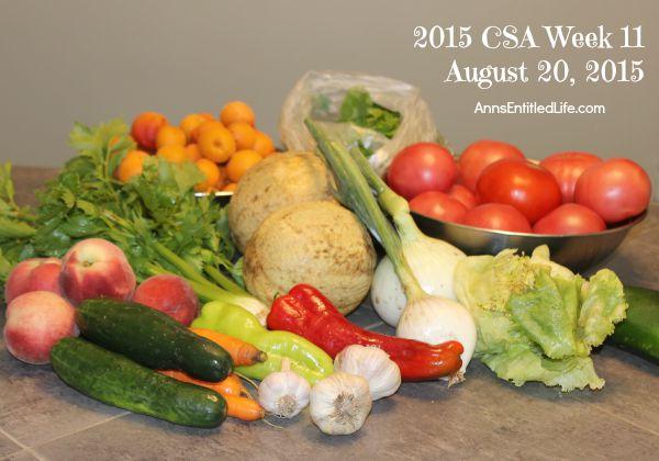 2015 CSA Share Week 11