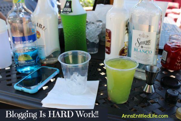 Blogging Is HARD Work!!