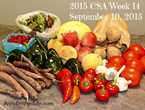 2015 CSA Share Week 14