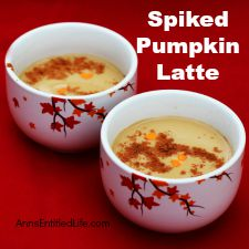 Spiked Pumpkin Latte Recipe