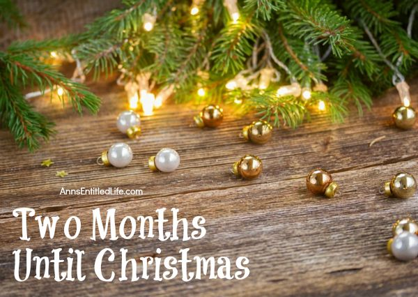 Three Months Until Christmas