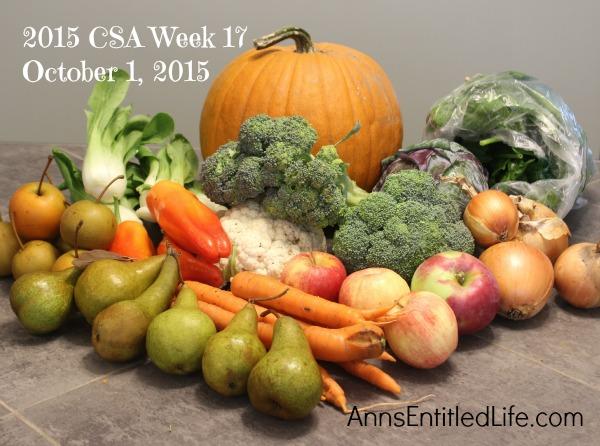 2015 CSA Share Week 17