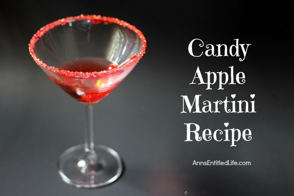 Candy Apple Martini Recipe. Why let kids have all of the fun? This is a sweet and easy Candy Apple Martini Cocktail will remind you of delicious candy apples, with a decidedly grown-up twist.