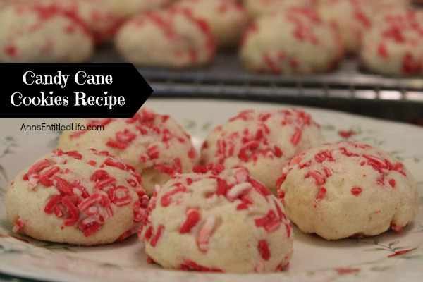 Candy cane cookies recipes easy