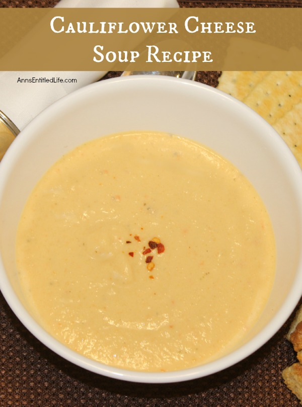 Cauliflower Cheese Soup Recipe. Few things go together better than cauliflower and cheese, and this delicious, rich, easy to make Cauliflower Cheese Soup takes that wonderful pairing to new heights. Lunch, dinner or as a starter, this soup is a crowd pleasing winner!
