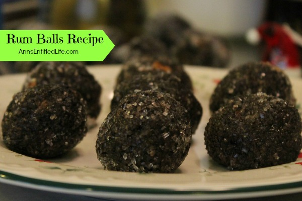 Rum Balls Recipe; these unique (secret ingredient) rum balls are easy to make ahead and store very well. Brandy or Bourbon may be substituted for the Rum if you prefer.