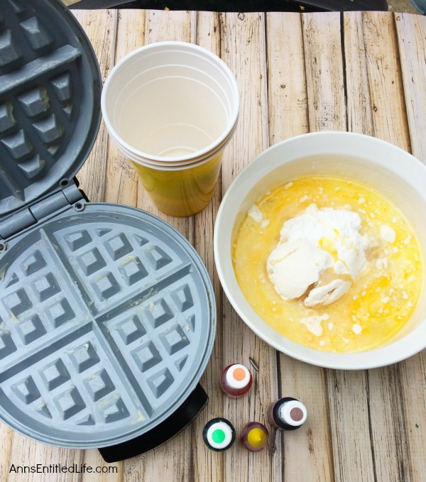 Turkey Waffle Recipe. This adorable turkey waffle makes for a wonderful Thanksgiving breakfast! Your kids (and you) will be thrilled to start the day with this sweet and charming morning repast.