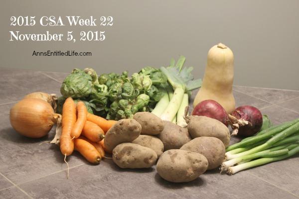 2015 CSA Share Week 22