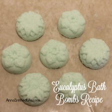 Eucalyptus Bath Bombs Recipe