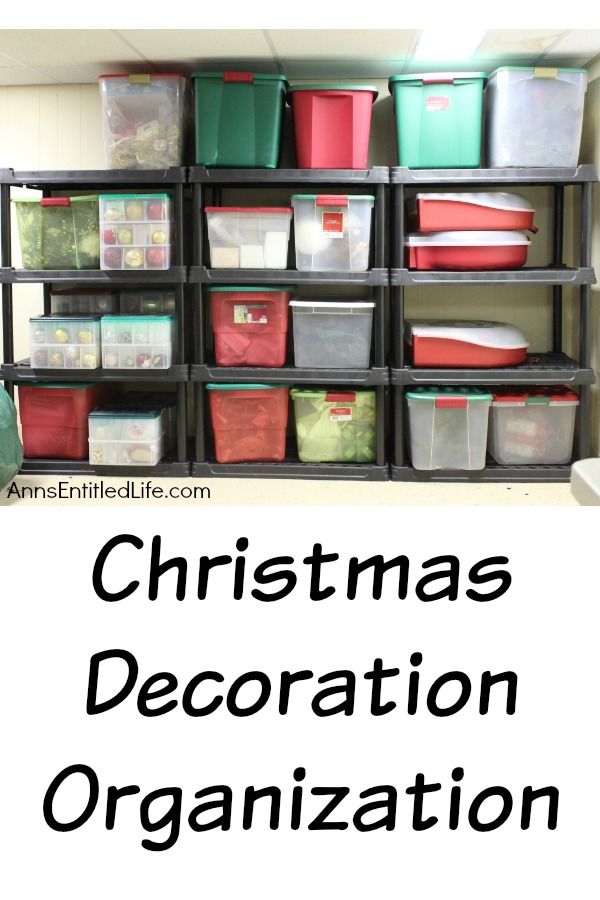 how to organize your christmas decorations and decor so you can find things organizing your - How To Organize Christmas Decorations