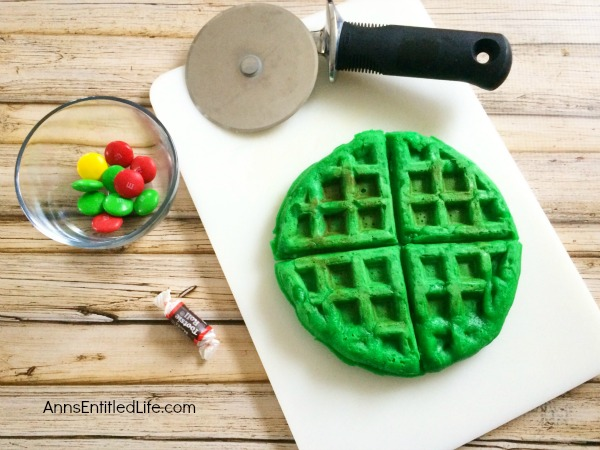 Christmas Tree Waffle Recipe. Christmas morning breakfast does not get any cuter than this Christmas Tree Waffle! Your children (and you) will be delighted with this yuletide morning repast.