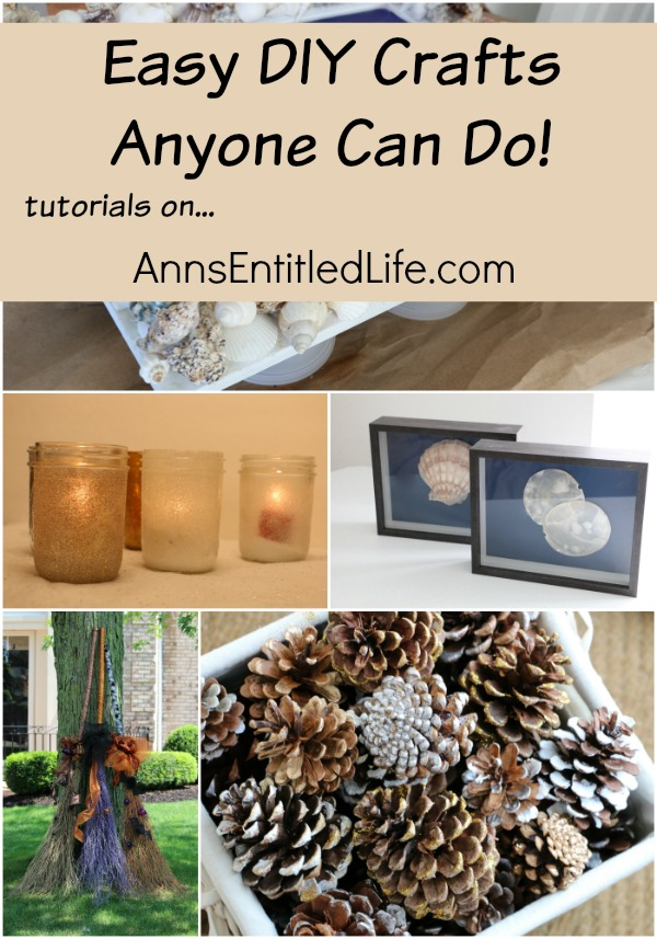 Crafts for Anyone can craft