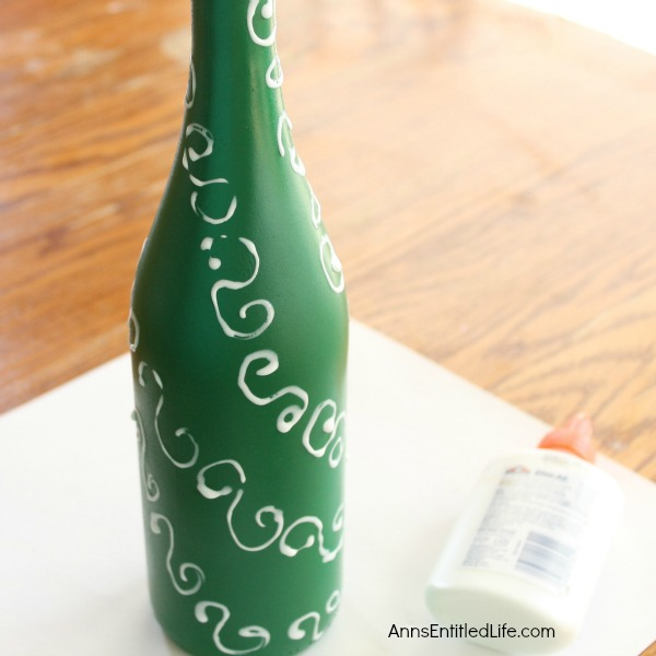 easy diy wine bottle christmas tree